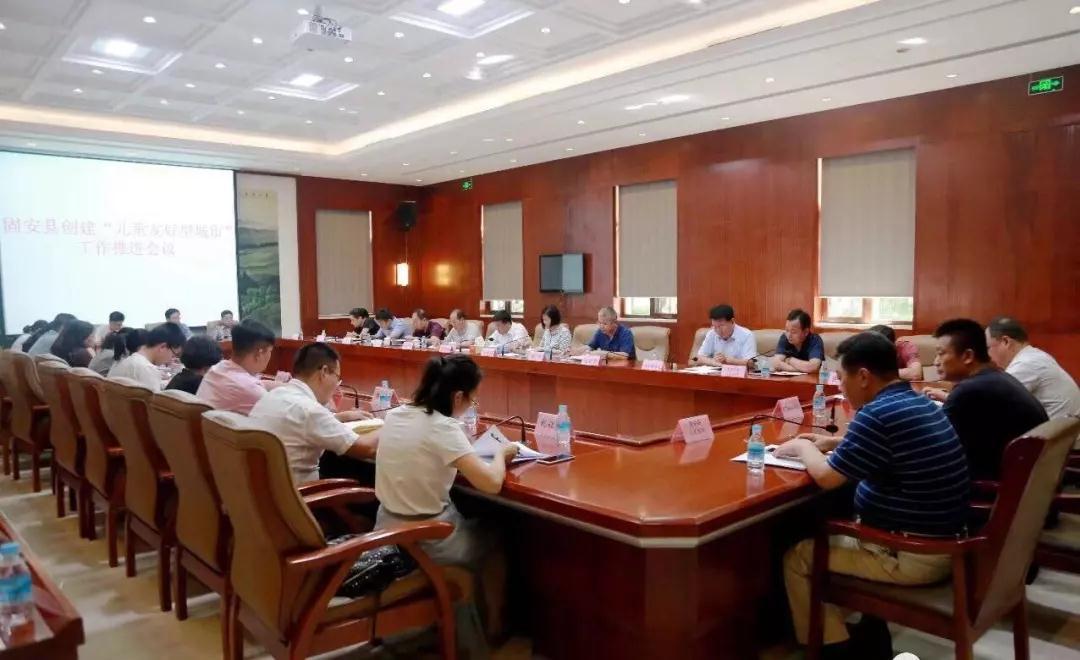 固安县召开儿童友好型城市创建工作推进会